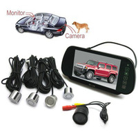 Wholesale 7 Inch LCD Car Rearview Mirror Monitor Rear View Camera Radar Parking Sensor System