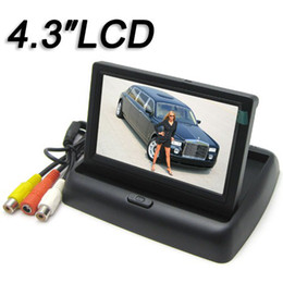 [SALE] 4.3 Inch Color TFT LCD Car Rear view Monitor 4.3'' Parking Rearview Monitor with 2CH Video Input / 960H x 240V Resolution CMO_364