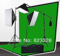 backdrop photography kits - photographic equipment With photography backdrops Muslin backdrops Background Stand light stand softbox LK02