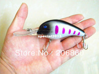 Wholesale Deep crankbaits CM G HOOKS Fishing Lures for tackle sea pesca fishing wobblers crank bait