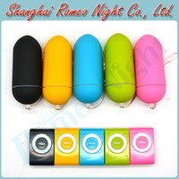 Wholesale Colorful Portable Wireless Waterproof MP3 Vibrators Remote Control Women Body Massager Vibrator Sex Toys Audlt Products
