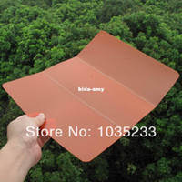 Wholesale Outdoor Camping Folding Cutting Board Portable Folding Chopping Block Plastic