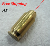 Wholesale New TOP Quality CAL Cartridge Bore Sighter Red Dot Laser Boresighter Sight Hunting Copper