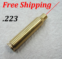 Wholesale New TOP Quality CAL REM Cartridge Bore Sighter Red Dot Laser Boresighter Sight Hunting Copper