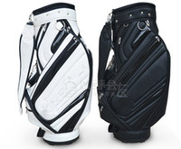 PVC best cart bag - Best Quality Golf Cart Bag Cart Bag Standard Ball Package White Black Color Golf Bags Clubs