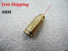 Wholesale 9MM New TOP Quality CAL MM Cartridge Bore Sighter Red Dot Laser Boresighter Sight Hunting Copper Cover