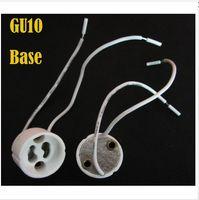 Wholesale hot sale product Ceramics lamp socket Ceramics GU10 socket GU10 base GU10 lamp holder