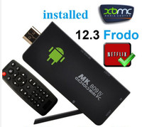 Quad Core Not Included 1080P (Full-HD) MK809 IV Quad Core Smart TV Stick Dongle RK3188 Chip 2GB 8GB Android 4.4 kitkat Mini PC With WIFI Remote MK809IV Full 1080P Installed XBMC