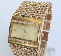 beaded watch straps - Ladies Watch Watch Crystal Beaded Bracelet Watch fashion watch strap watch more drilling Fashion lady watch