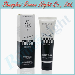 Wholesale Neutral Silk Touch ML Sex Oil Lubricant Love Sex Toys Cream Lubricants Audlt Products