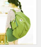 Wholesale 2014 Korean version of the iconic multi functional transformation foldable storage bag shoulder bag backpack large favorably WY339