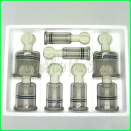 Wholesale Medical Chinese Vacuum Body Cupping Cups Healthy Kit Therapy Massage Portable