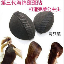 Wholesale 2 pair Volume Hair Base Velcro Bump Styling Insert Tool