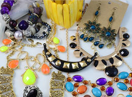 Wholesale 2015 Jewelry Europe Style Necklaces Bracelets Earrings Rings Multi Cheap Jewelry Sets Statement Necklace g