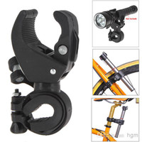 E26 plastic flashlight - Latest Omnipotent Plastic Bike LED Flashlight Torch Bracket Holder Mount Front Light Lamp Clip for Bicycle Cycling OUT_128