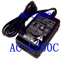 Wholesale AC L200 AC adapter AC L200 AC L200B AC L200C AC Wall Power Adapter Charger for Sony DCR SR80 DCR HC32