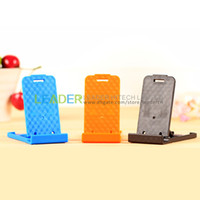 Wholesale New Universal Portable Fold up Desk Mount Bracket Stand Holder For Apple iPad air mini iphone S S Tablet PC Samsung