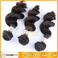 Brazilian Hair Loose Wave 8-30inch 5Pcs Lot 6A Grade Brazilian 100% virgin hair Natural wave Loose Wave Full Head 3 bundles Mixed lengths 8-30inch Human Hair Weave Extension