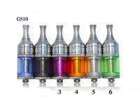 Los sensores gs10 1.2 ML de Actualización Cobra M9 Cigarrillo electrónico Clearomizer Atomizador Para el EGO-C / EGO-T/EGO-K/GS-SUB 2.0/GS MATRIZ de la Batería del EGO