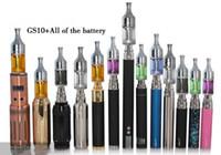 Colorido de los sensores gs10 1.2 ML de Actualización Cobra M9 Cigarrillo electrónico Clearomizer Atomizador Para el EGO-C / EGO-T/EGO-K/GS-SUB 2.0/GS MATRIZ de la Batería del EGO