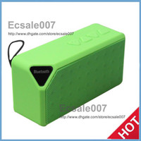 Wholesale High Promotion X3 Wireless Speakers With Bluetooth HIFI Speaker TF Card With Retail Box Loud Speakers S01