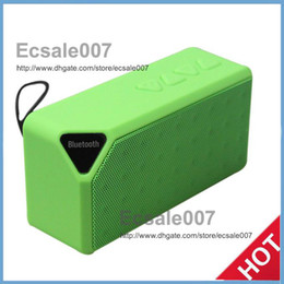 High Promotion X3 Wireless Speakers With Bluetooth HIFI Speaker TF Card With Retail Box Loud Speakers S01 Free Shipping