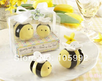 bee movie birthday - 2014 baby shower favor Mommy and Me Sweet as Can Bee Ceramic Salt and Pepper Shakers box