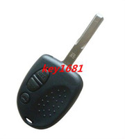 Wholesale car chevrolet holden button remote key shell uncut blade