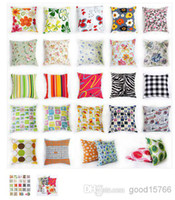 Wholesale Sofa Cushion cover pillow case pillowcase holding back cover customized Pack