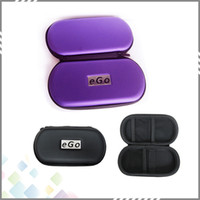 best kits leather - Best EGO Case with Zipper Large Medium Small Size Ego Box Ego Bag for eGo Series Electronic Cigarette kit DHL Free