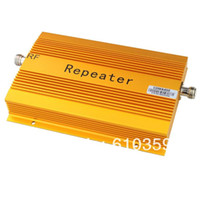 Wholesale 2014 Newest UP TO square meter work CDMA MHZ Mobile Phone Signal Amplifier Repeater Booster