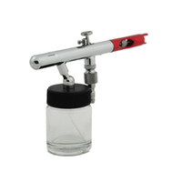Wholesale 0 mm Dual Action Airbrush Spray Gun Kit for Nail Body Paint Art Drawing Tatoo