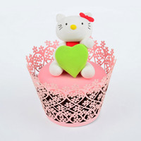 Wholesale 2014 new satyle wedding Paper Cupcakes Wrappers wrappers for cake decoration