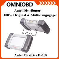 Wholesale 2014 OBDII MaxiDAS DS708 Diagnostic Equipment universal auto scanner Original Autel MaxiDAX DS