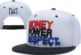 Wholesale Newest TMT MONEY POWER RESPECT Snapback Hats Snapbacks hats snap backs Alabama USA Louisiana USA Adelaide Australia montpellier France Cap
