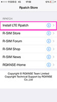 Wholesale FAST SHIPPING R sim ios7 G G LTE patch code rpatch tool acivate code acivation code