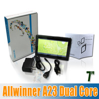Wholesale 2014 Hot Inch Allwinner A23 tablet pc Q88 allwinner A23 Dual Core GHz Android WIFI MB GB Dual Camera Colors churchill shop