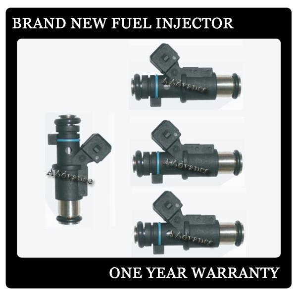 Brand New Oem Fuel Injector 01f002a For Peugeot 206 307 Partner Citroen C3 Xsara 1 1 1 4 8v