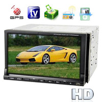 Wholesale Universal Two DIN Inch TFT LCD Touch Screen Auto Car DVD Player System with GPS Navigator TV AM FM Radio Tuner
