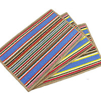 Wholesale Mat kitchen room bedroom bathroom mat bed pad beautiful stripes Decontamination ability Friction resistance is very clean