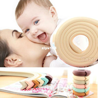 Wholesale Baby Children Safety Glass table Edge Furniture Guard Strip Horror crash bar Corner foam Bumper Collision Protector Cushion