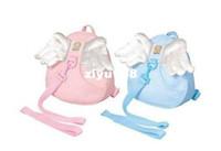Bamboo Fiber baby carrier back pack - Angel Toddler Safety Harness kid Cotton Reins Baby Sling Backpack Child Walker Buddy Carrier Infant Back Pack sample