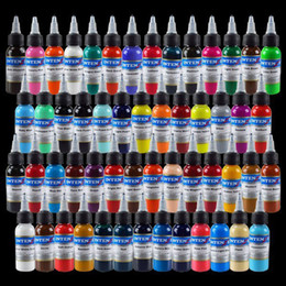 Wholesale Tattoo Ink New High Quality Colors Set oz ml Bottle Tattoo Pigment Kit