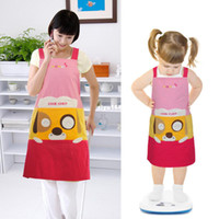 kids fabric cotton - Price Cute Kids Kitchen Garden Fabric Craft Aprons Lovely baby Child baby Pinafore cotton body apron children cook chef Cheap