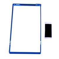 Sony-Ericsson Bumper Aluminum Ultra Thin Metal Bumper Hard Case Cover For Sony Xperia Z XL39H(Silver Black Blue)