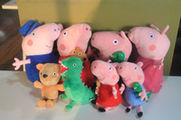 The latest Peppa Pig Plush Doll Stuffed Toy Peppa Bear GEROG...
