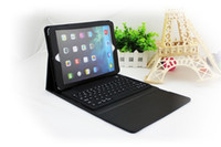 Wholesale Fanshion New Product High Quality Wireless Bluetooth Keyboard silicon Case Cover For Apple iPad iPad Air inch Tablet