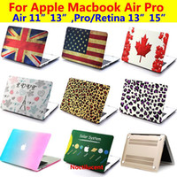 Wholesale protective Smart Satin Pattern Rubberized Matt Hard Case Cover Shell For Macbook Air Pro quot quot quot Retina quot quot inch