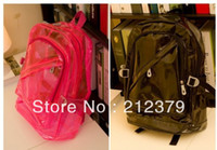 Backpack Style Unisex Plain 2014 New Style Ladies Backpacks Fruit Jjelly Color Student Backpack Transparent Candy Color Campus Backpack