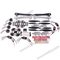 Wholesale RC Aircraft Accessories Set Frame Arm Motor Propeller Holder ESC Flight Controller Cover Board